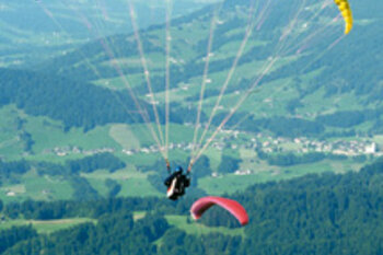 Paragliding in the Bregenzerwald