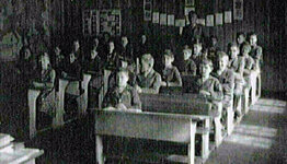 The schoolroom, in days gone by