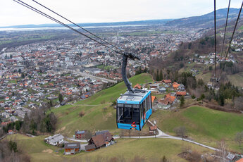 Karren cable car Dornbirn