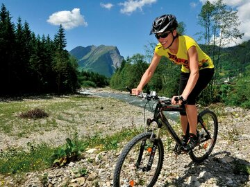 Mountain biking in the Bregenzerwald